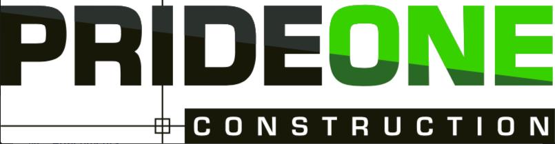 Pride One Construction