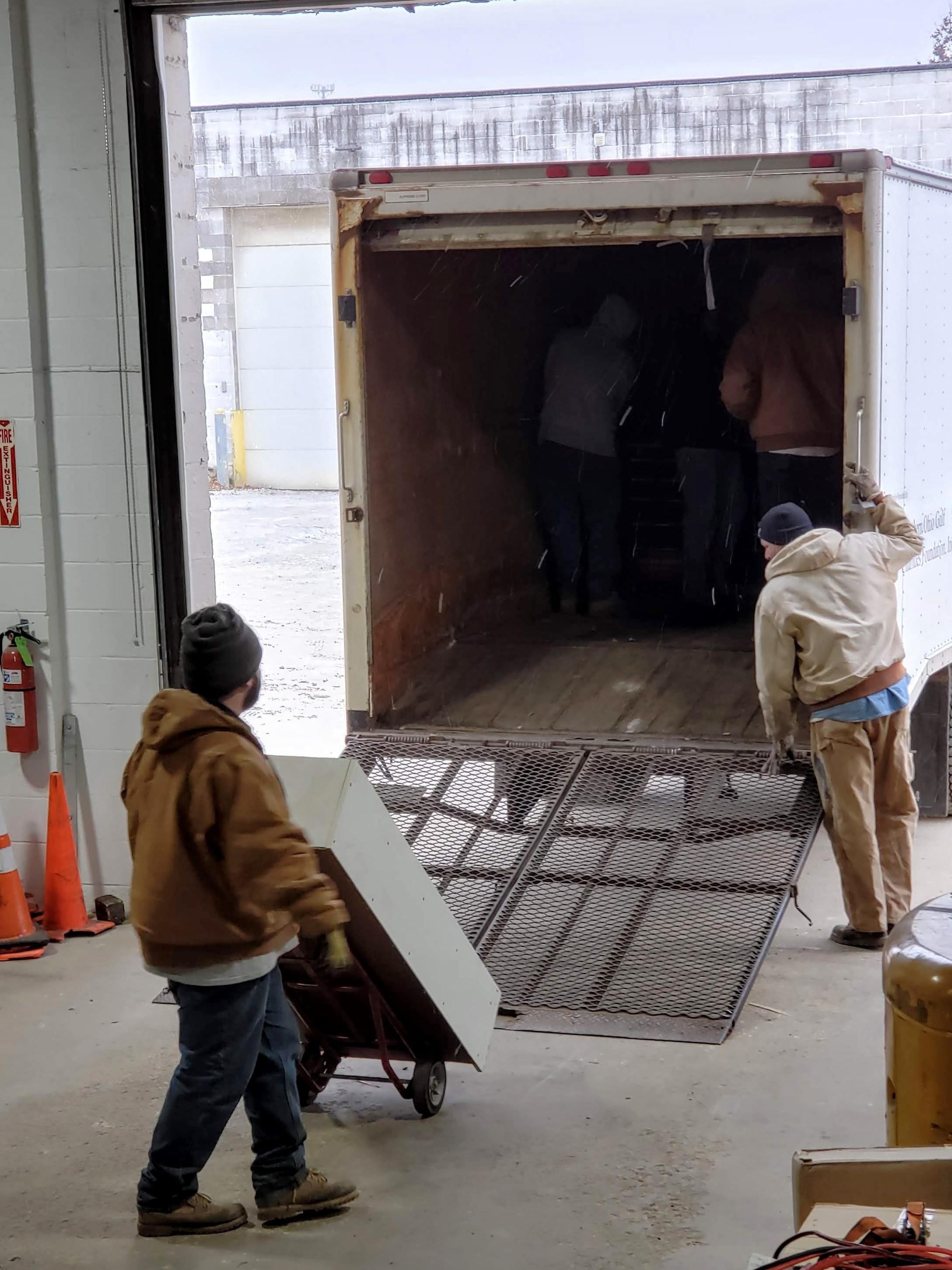 hauling and manual labor